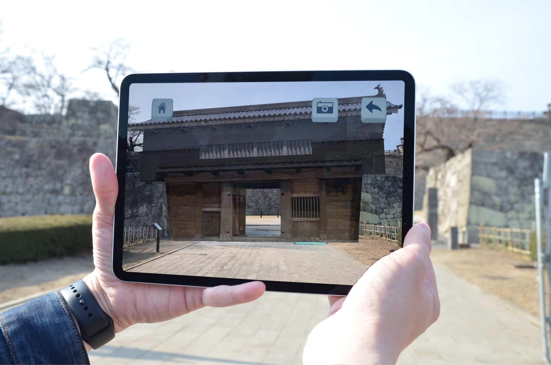 福島県白河市「小峰城歴史館」のVR映像・ARアプリを担当いたしました