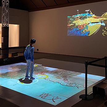 群馬県立歴史博物館第102回企画展 空からグンマを見てみようー国絵図・城絵図・町村絵図ー