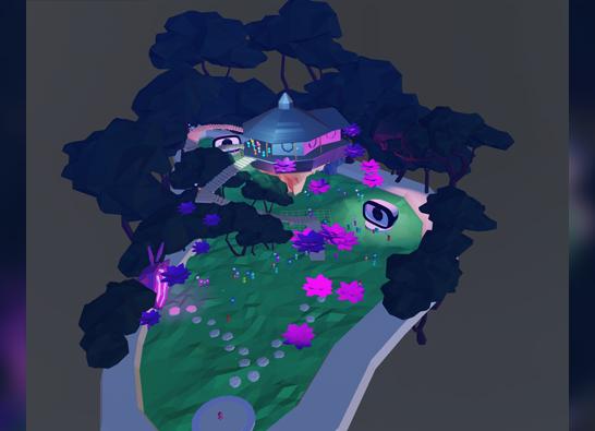 Production of Virtual Platform for YohaS Night Festival 2021: Virtual Yohas in Chiba Park