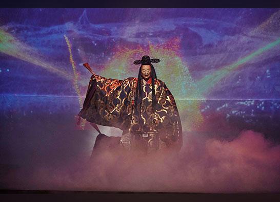 (日本語) 「スペクタクルライブステージ 神・鬼・麗 三大能∞2020」が、8月27日より先行配信中です